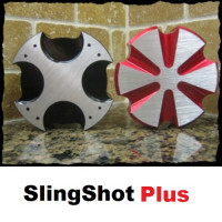 Gas Caps (Malte or Radiant) powder coated Aluminum by Slingshot Plus